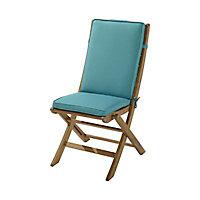 Coussin de chaise / fauteuil Tiga eucalyptus 94 x 40 cm