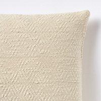 Coussin Diamond blanc 45 x 45 cm