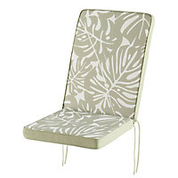 Coussin fauteuil haut GoodHome Tiga green tea 40 x 94 cm
