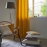 Coussin GoodHome Hiva beige 60 x 60 cm