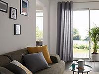 Coussin GoodHome Hiva gris 45 x 45 cm