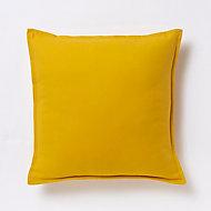 Coussin GoodHome Hiva jaune 45 x 45 cm