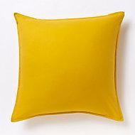 Coussin GoodHome Hiva jaune 60 x 60 cm