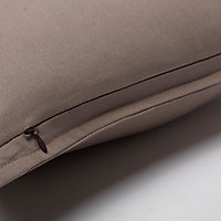 Coussin GoodHome Hiva marron 60 x 60 cm