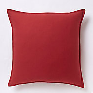 Coussin GoodHome Hiva rouge 60 x 60 cm