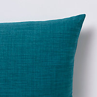 Coussin GoodHome Novan bleu 40 x 60 cm