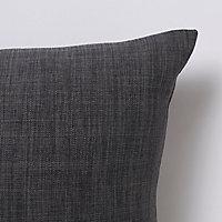 Coussin GoodHome Novan gris 40 x 60 cm