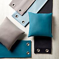 Coussin GoodHome Taowa vert bleu 50 x 50 cm