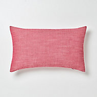 Coussin GoodHome Tiga rouge 30 x 50 cm