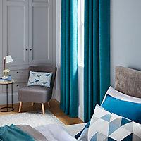 Coussin Rima bleu 40 x 60 cm