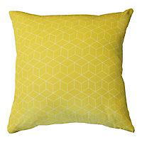 Coussin Trios jaune 45 x 45 cm