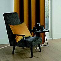 Coussin Velvet Valgreta 30x50 cm Jaune