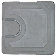 Couvercle regard béton allégé Castorama 30 x 30 cm