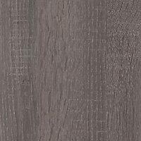 Crédence aspect bois chêne gris Topia 307 x 64 cm