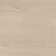 Crédence de cuisine aspect bois blanchi GoodHome Kala blanc l. 300 cm x H. 60 cm x Ep. 10 mm