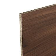 Crédence de cuisine aspect bois foncé GoodHome Kala l. 300 cm x H. 60 cm x Ep. 8 mm