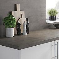 Crédence de cuisine aspect ciment GoodHome Kala l. 300 cm x H. 60 cm x Ep. 8 mm