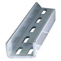 Crémaillère double acier laqué blanc 206 cm