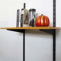Crémaillère double perforation Form Twinny 49,5 cm coloris noir
