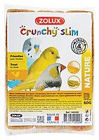Crunchy slim oiseaux nature Zolux (3 x 20g)