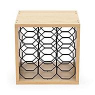 Cube range-bouteilles alvéoles Compactor + Limonadier et sac