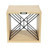 Cube range-bouteilles croix en X Compactor + Limonadier et sac