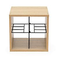 Cube range-bouteilles croix verticale Compactor + limonadier