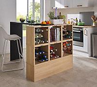Cube range-bouteilles vague Compactor + limonadier