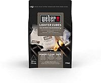 Cubes allume-feux Weber (x 22)