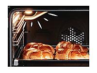 Cuisine complète All in basic gris L.255 cm avec électroménager