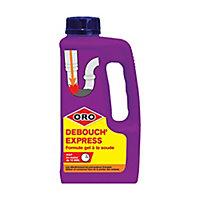 Débouch'tout Express gel Liquide 1L Oro