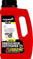 Déboucheur Turbo WC Fulgurant 500g