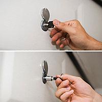 Débrayage à clé GoodHome pour porte de garage