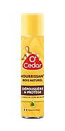 Dépoussiérant nourrissant bois O'Cedar 300ml
