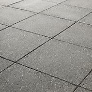 Dalle grenaillée Lagos anthracite 40 x 40 cm, ép.4 cm