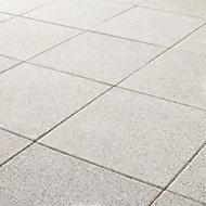 Dalle grenaillée Lagos grise 40 x 40 cm, ép.4 cm