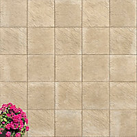 Dalle nuance pierre 50 x 50 x 4,5 cm