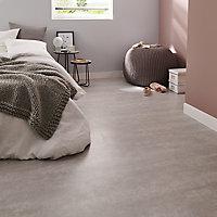 Dalle PVC adhésive gris clair Poprock 30 x 60 cm (vendue au carton)