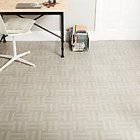 Dalle PVC adhésive parquet gris 30 x 30 cm (vendue au carton)