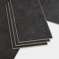 Dalle PVC clipsable ardoise Bachata 30 x 60 cm (vendue au carton)