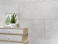 Dalle PVC Dumawall+ ciment clair 65 x 37,5 cm (vendu au carton)