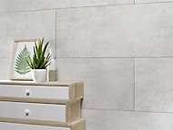 Dalle PVC Dumawall+ ciment clair 65 x 37,5 cm