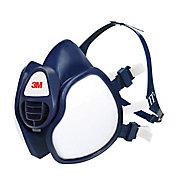 Demi-masque anti-gaz et antipoussières filtre FFABEK1P3 3M