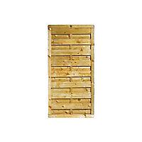 Demi-panneau bois droit BLOOMA Onora 90 x h.180 cm