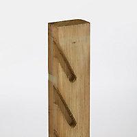 Demi poteau bois Lemhi 4,5x9xh.240 cm pour pose persienne
