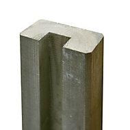 Demi poteau U27 pin 4,5 x 9 x L.240 cm