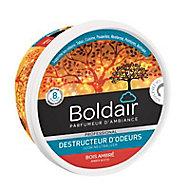 Destructeur d'odeurs gel Boldair bois ambré 300g