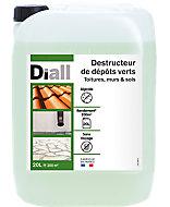 Destructeur de dépôts verts Diall 20L