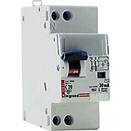 Disjoncteur différentiel type AC 30mA - 20A Legrand