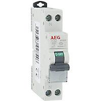 Disjoncteur Phase + neutre 32A AEG
